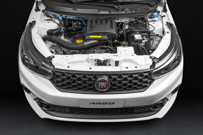 Fiat Argo launched in Brazil – eight variants offered Image #668641