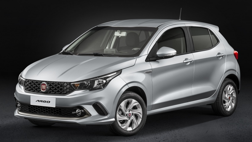 Fiat Argo launched in Brazil – eight variants offered Image #668657