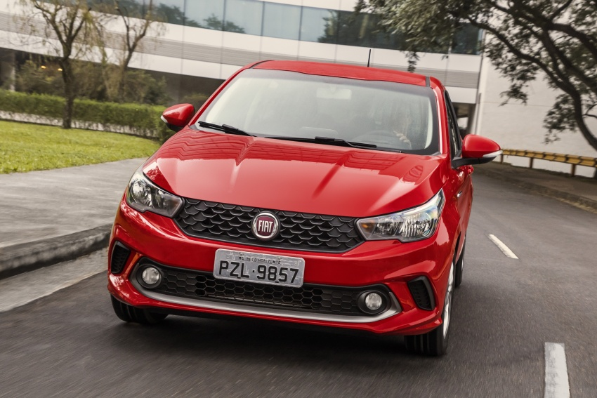 Fiat Argo launched in Brazil – eight variants offered Image #668649