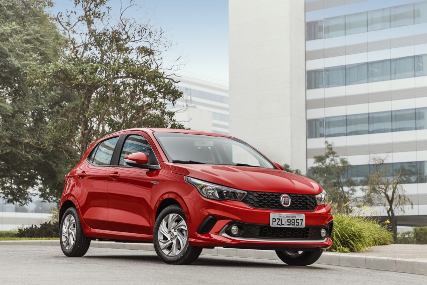 Fiat Argo launched in Brazil – eight variants offered Image #668651