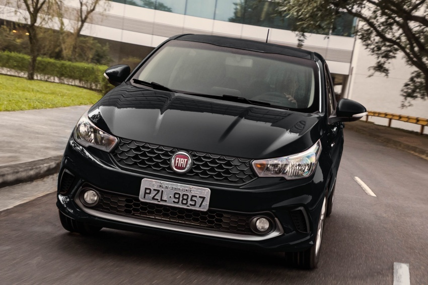 Fiat Argo launched in Brazil – eight variants offered Image #668687