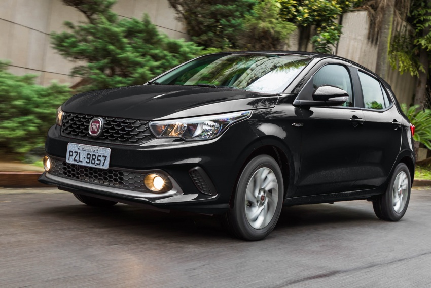 Fiat Argo launched in Brazil – eight variants offered Image #668688