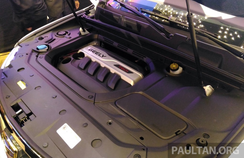 Geely Boyue SUV makes first Malaysian appearance Image #676399