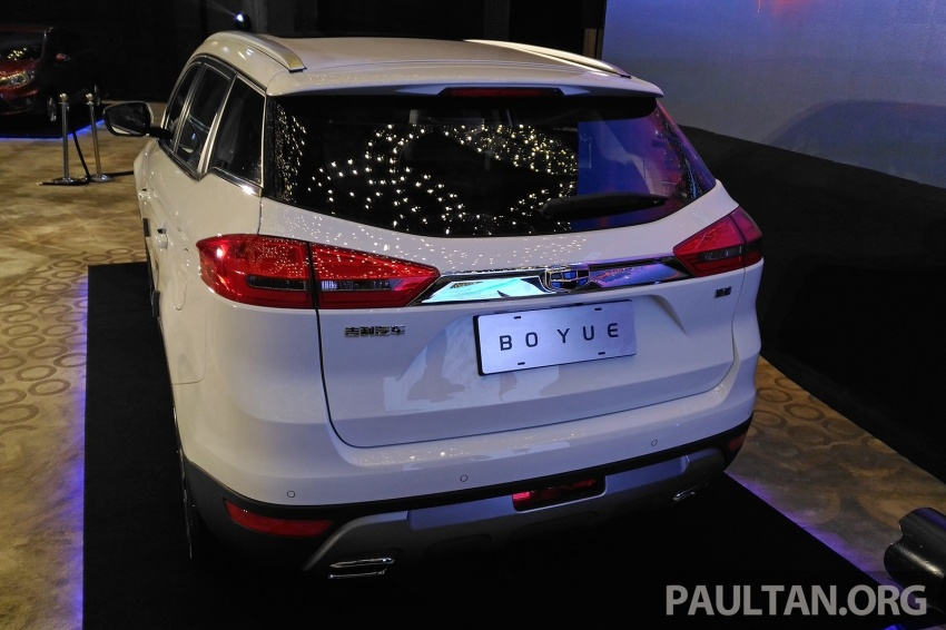 Geely Boyue SUV makes first Malaysian appearance Image #676485