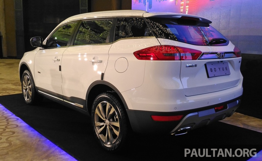 Geely Boyue SUV makes first Malaysian appearance Image #676486