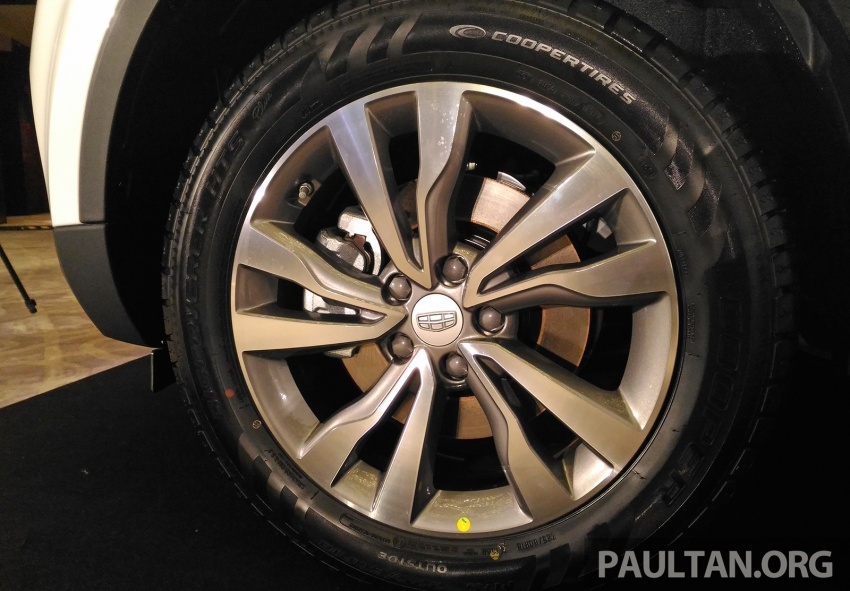 Geely Boyue SUV makes first Malaysian appearance Image #676487