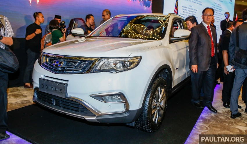 Geely Boyue SUV makes first Malaysian appearance Image #676374