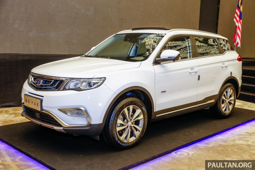 Geely Boyue SUV makes first Malaysian appearance Image #676524