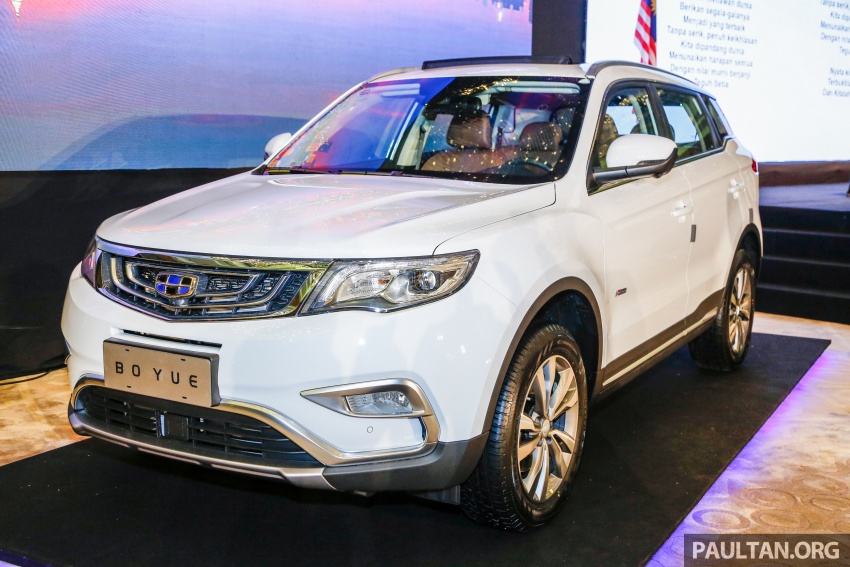 Geely Boyue SUV makes first Malaysian appearance Image #676525