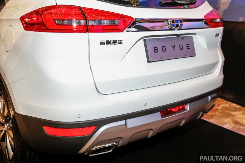 Geely Boyue SUV makes first Malaysian appearance Image #676544