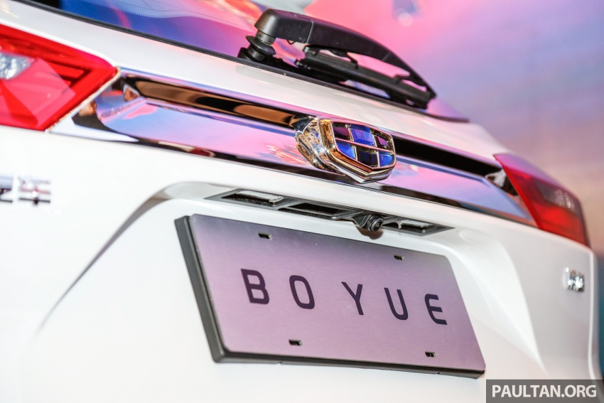 Geely Boyue SUV makes first Malaysian appearance Image #676547