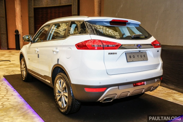 Proton Suv Geely Boyue Makes First Malaysian Appearance
