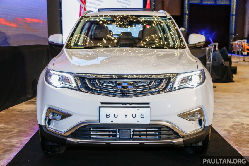 Geely Boyue SUV makes first Malaysian appearance Image #676527