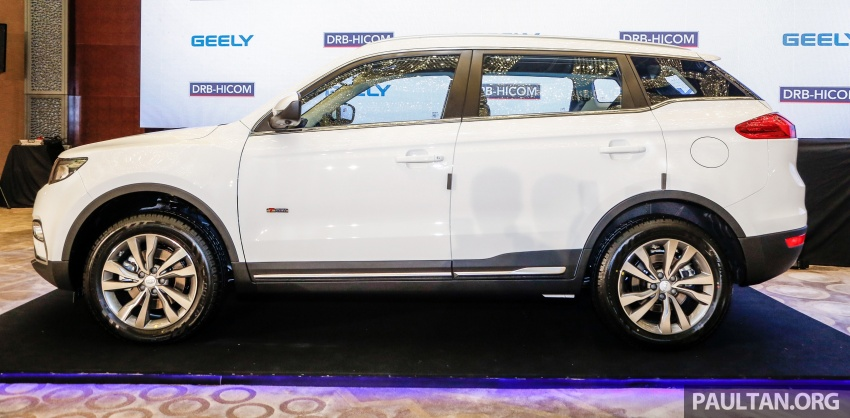 Geely Boyue SUV makes first Malaysian appearance Image #676528