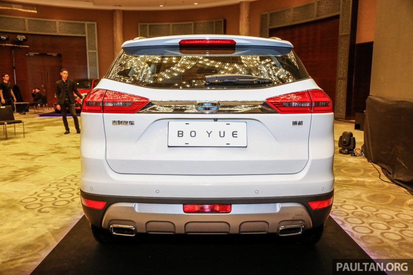 Geely Boyue SUV makes first Malaysian appearance Image #676529