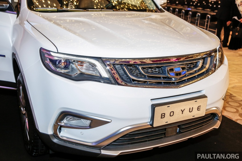 Geely Boyue SUV makes first Malaysian appearance Image #676530