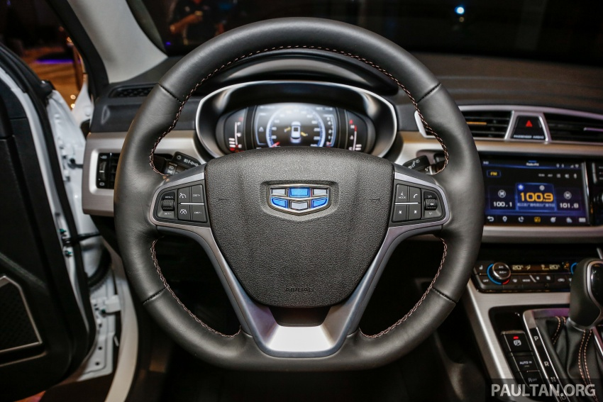 Geely Boyue SUV makes first Malaysian appearance Image #676558