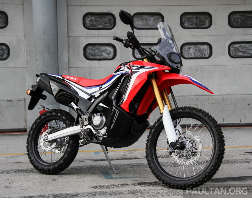 Boon Siew Honda pamer CRF250 Rally dan CRF250L, akan dilancar Ogos ini, harga sekitar RM27k, RM23k Image #668999