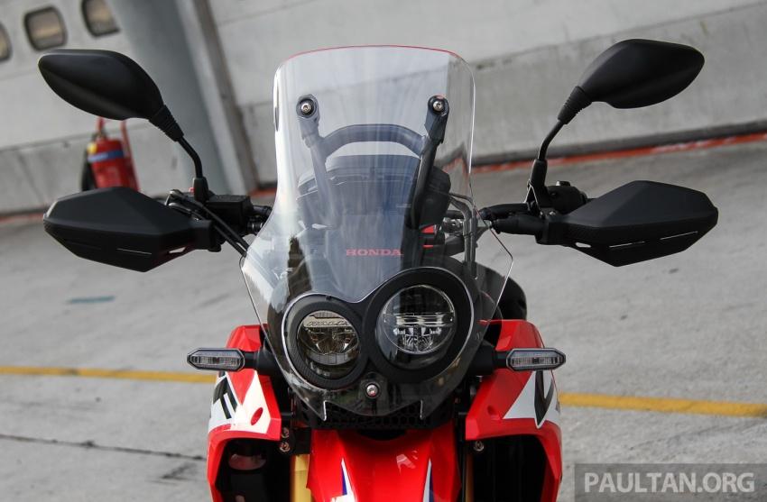 Boon Siew Honda pamer CRF250 Rally dan CRF250L, akan dilancar Ogos ini, harga sekitar RM27k, RM23k Image #669000
