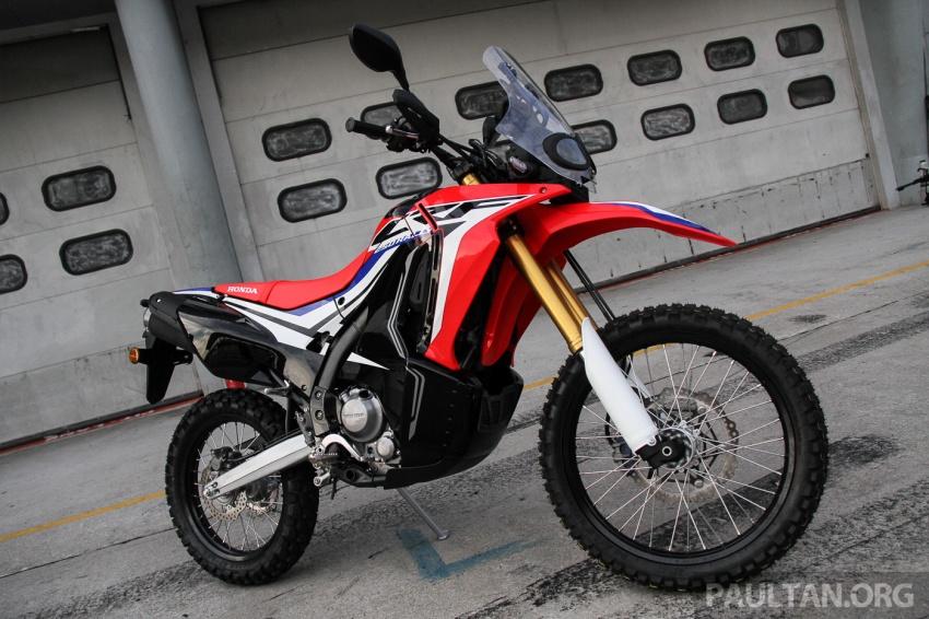 Boon Siew Honda pamer CRF250 Rally dan CRF250L, akan dilancar Ogos ini, harga sekitar RM27k, RM23k Image #669062