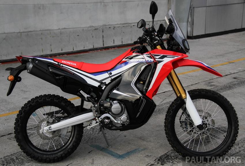 Boon Siew Honda pamer CRF250 Rally dan CRF250L, akan dilancar Ogos ini, harga sekitar RM27k, RM23k Image #669002
