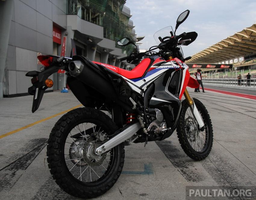 Boon Siew Honda pamer CRF250 Rally dan CRF250L, akan dilancar Ogos ini, harga sekitar RM27k, RM23k Image #669007