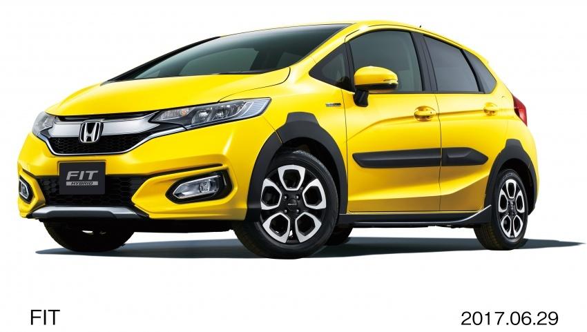 Honda Jazz facelift dilancar di Jepun – dari RM55k Image #678153