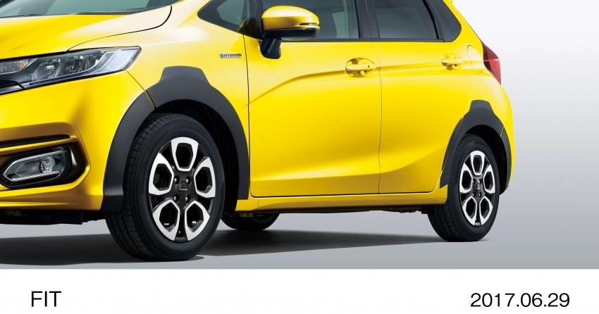 Honda Jazz facelift dilancar di Jepun – dari RM55k Image #678160