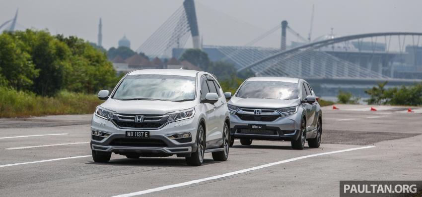 Honda CR-V 2017 – bagaimana ciri keselamatan Honda Sensing berfungsi dan dapat membantu pemanduan Image #673274