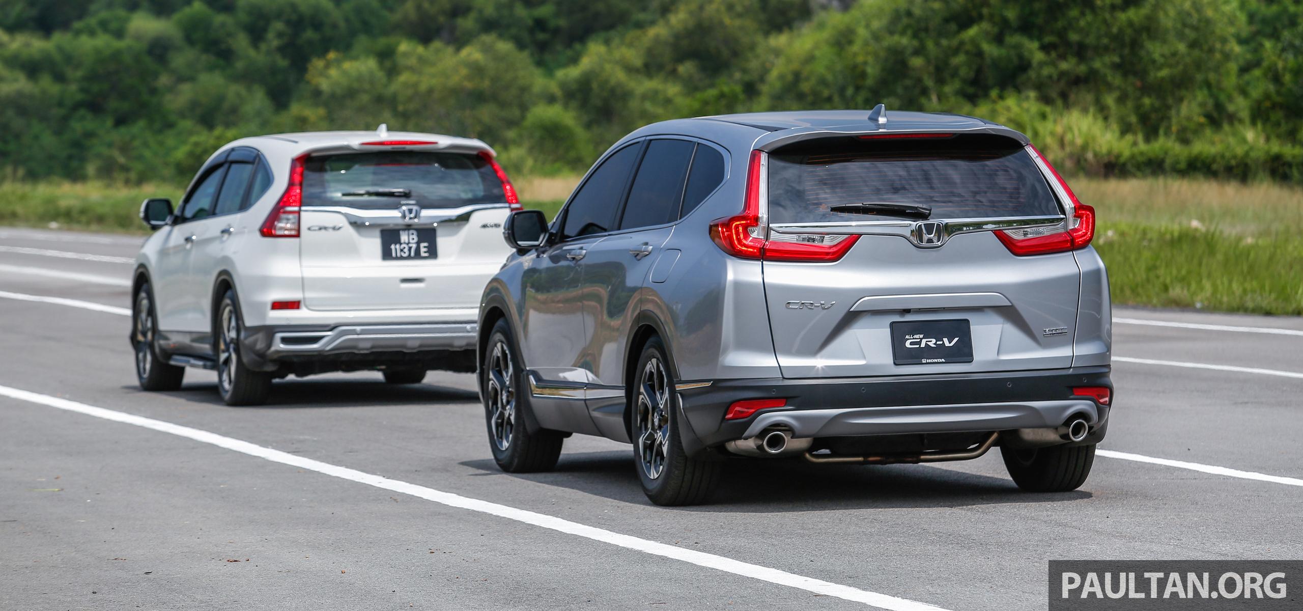 Honda cr v 2017 bagaimana ciri keselamatan honda sensing for Honda sensing crv