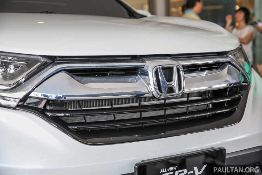 2017 Honda CR-V makes first Malaysian appearance – 2.0L NA to join 1.5L Turbo, live gallery from Penang Image #668023