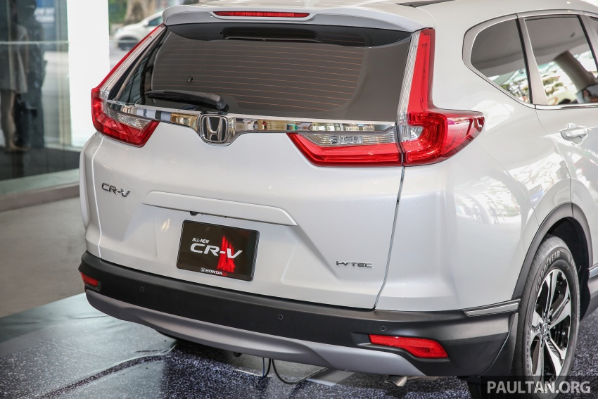 2017 Honda CR-V makes first Malaysian appearance – 2.0L NA to join 1.5L Turbo, live gallery from Penang Image #668031