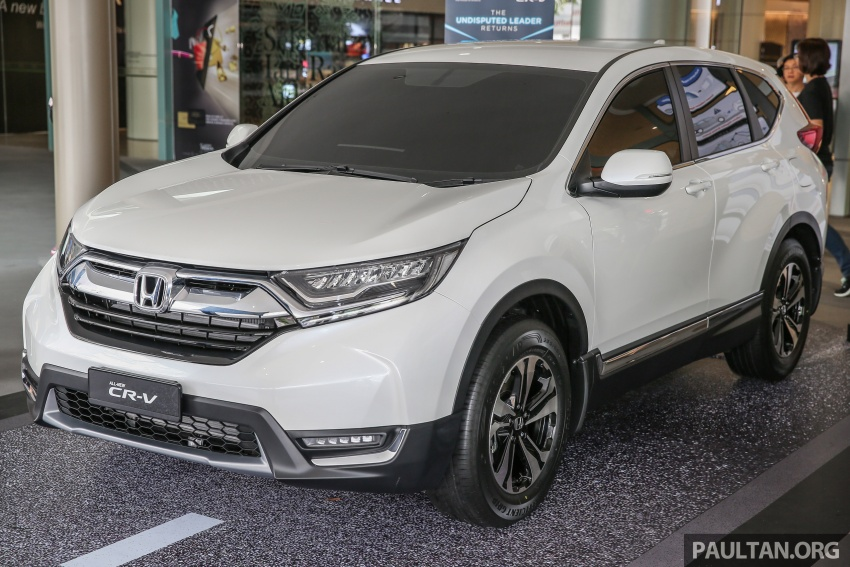 2017 Honda CR-V makes first Malaysian appearance – 2.0L NA to join 1.5L Turbo, live gallery from Penang Image #668012