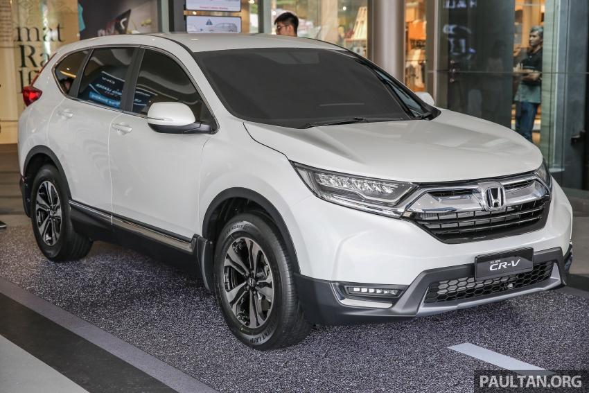 2017 Honda CR-V makes first Malaysian appearance – 2.0L NA to join 1.5L Turbo, live gallery from Penang Image #668013