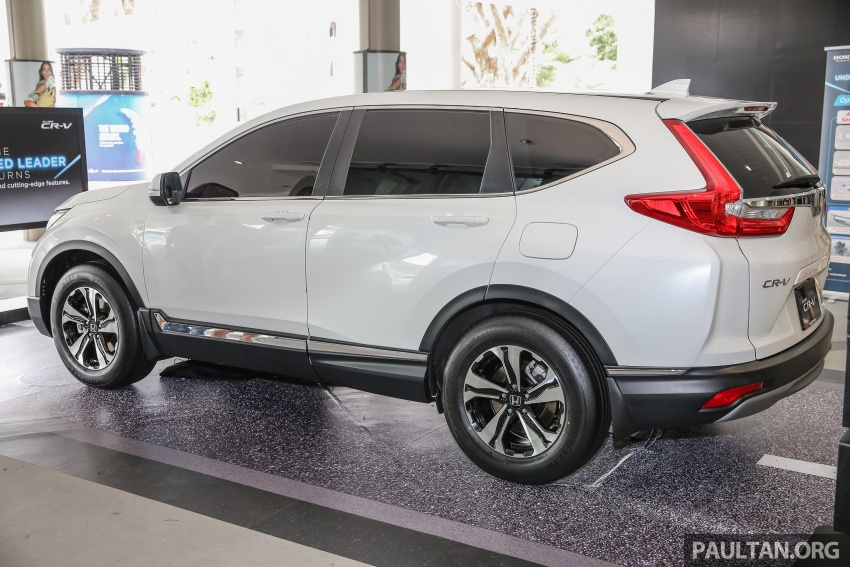 2017 Honda CR-V makes first Malaysian appearance – 2.0L NA to join 1.5L Turbo, live gallery from Penang Image #668015