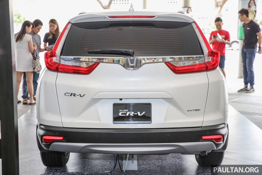 2017 Honda CR-V makes first Malaysian appearance – 2.0L NA to join 1.5L Turbo, live gallery from Penang Image #668017