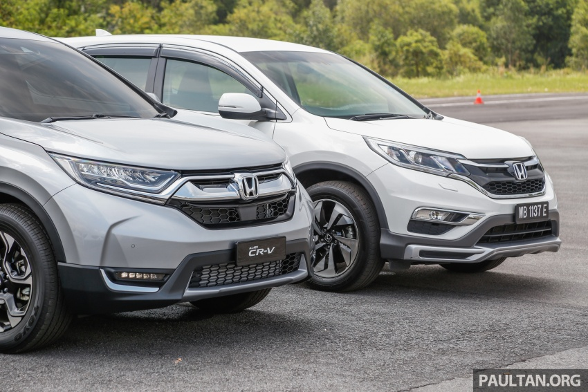 GALLERY: Honda CR-V – new 1.5L Turbo vs old 2.4L Image #673128
