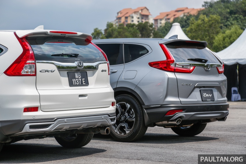 GALLERY: Honda CR-V – new 1.5L Turbo vs old 2.4L Image #673137