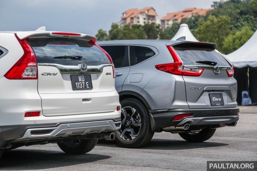 GALLERY: Honda CR-V – new 1.5L Turbo vs old 2.4L Image #673137