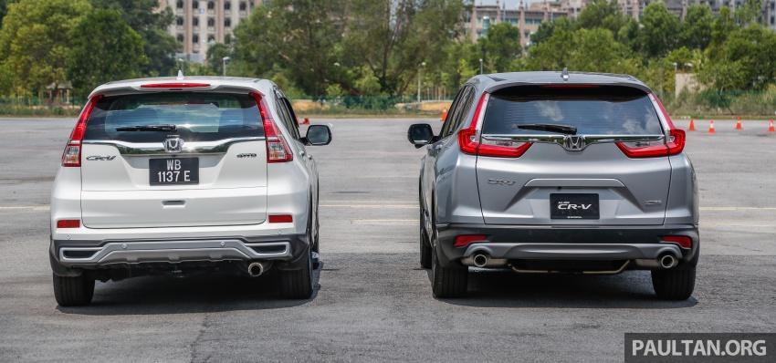 GALLERY: Honda CR-V – new 1.5L Turbo vs old 2.4L Image #673138