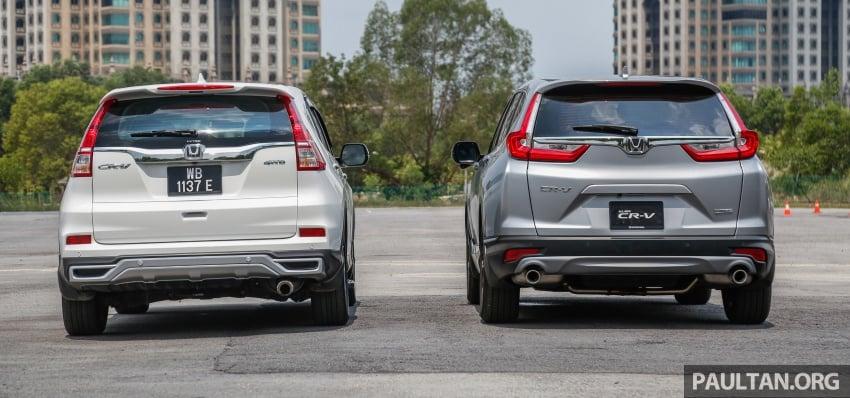 GALLERY: Honda CR-V – new 1.5L Turbo vs old 2.4L Image #673139