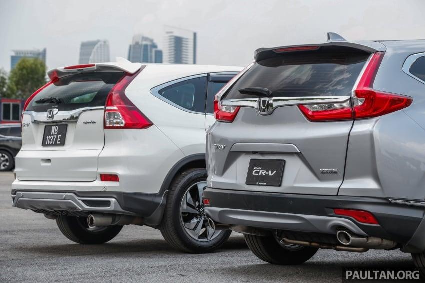 GALLERY: Honda CR-V – new 1.5L Turbo vs old 2.4L Image #673141