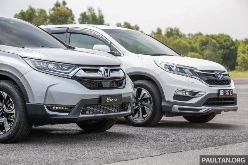 GALLERY: Honda CR-V – new 1.5L Turbo vs old 2.4L Image #673129