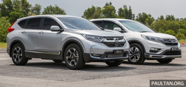 Gallery Honda Cr V New 1 5l Turbo Vs Old 2 4l