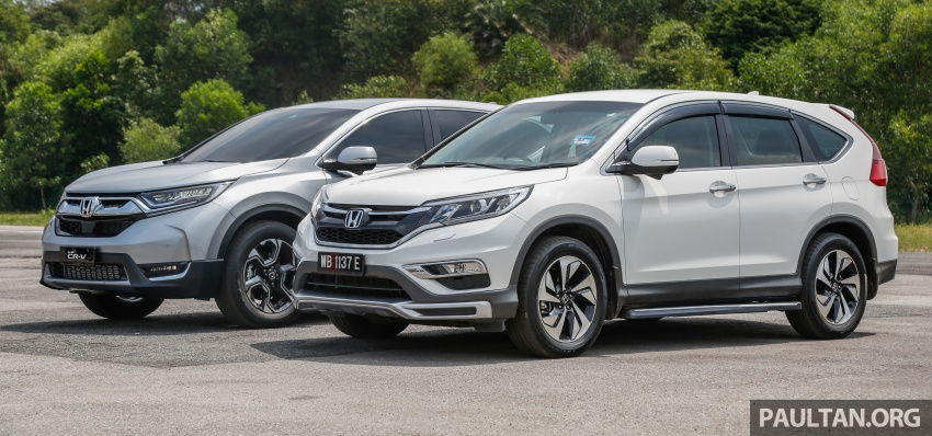 GALLERY: Honda CR-V – new 1.5L Turbo vs old 2.4L Image #673133