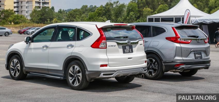 GALLERY: Honda CR-V – new 1.5L Turbo vs old 2.4L Image #673134