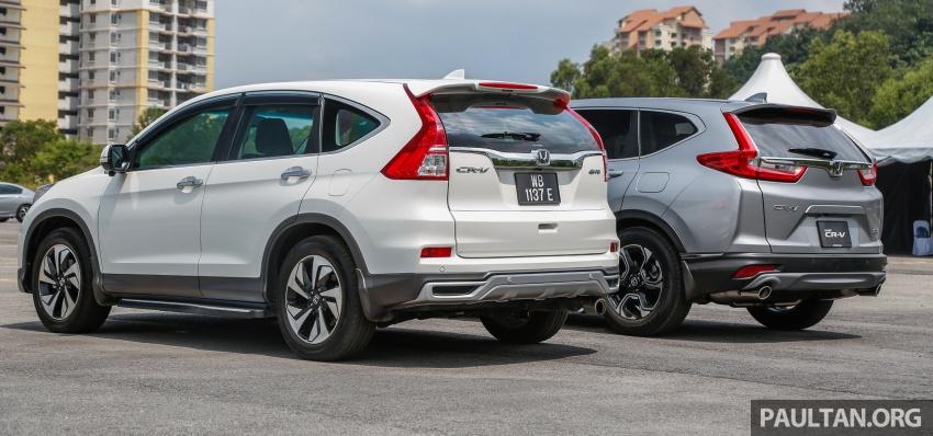 GALLERY: Honda CR-V – new 1.5L Turbo vs old 2.4L Image #673135