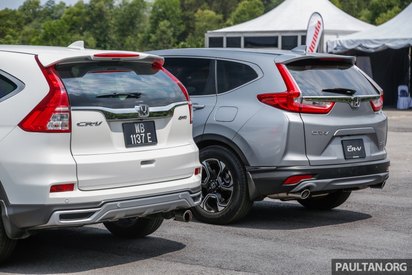 GALLERY: Honda CR-V – new 1.5L Turbo vs old 2.4L Image #673136
