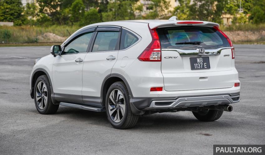 GALLERY: Honda CR-V – new 1.5L Turbo vs old 2.4L Image #673104