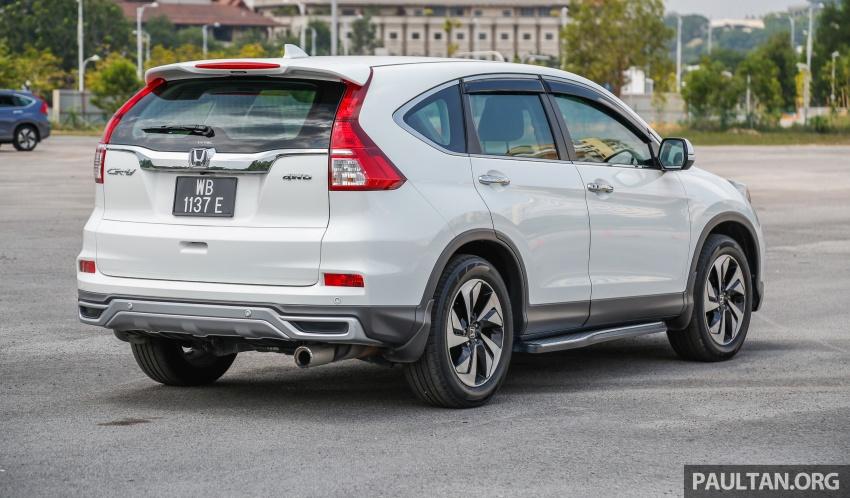 GALLERY: Honda CR-V – new 1.5L Turbo vs old 2.4L Image #673105